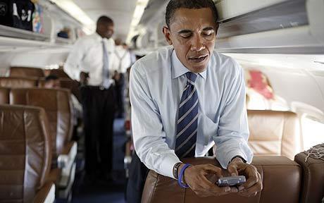 BlackBerry-Obama