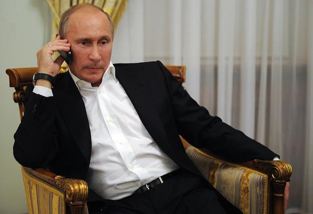 BlackBerry-Russian President Vladimir Putin